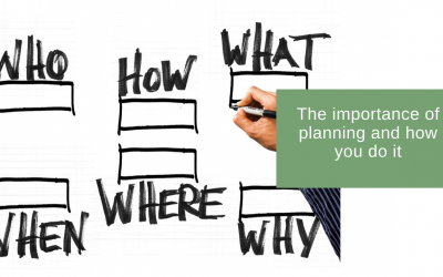 The importance of planning and how to do it