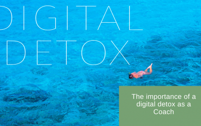 The importance of a digital detox as a coach