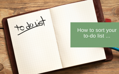 How to sort your to-do-list